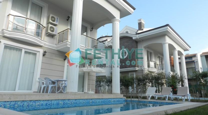 Müstakil Havuzlu Kiralık Villa Fethiye 17