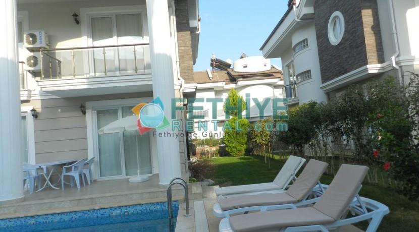 Müstakil Havuzlu Kiralık Villa Fethiye 18