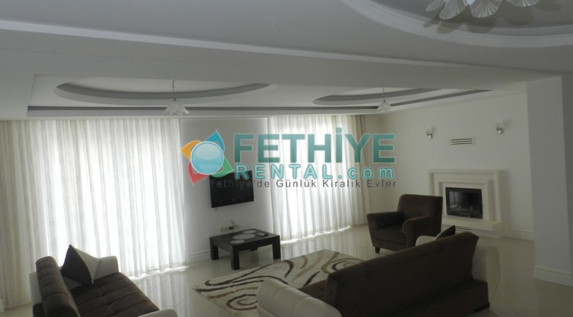 Müstakil Havuzlu Kiralık Villa Fethiye 21