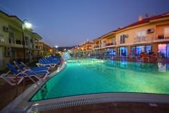 Fethiye denize sıfır kiralık tatil evi
