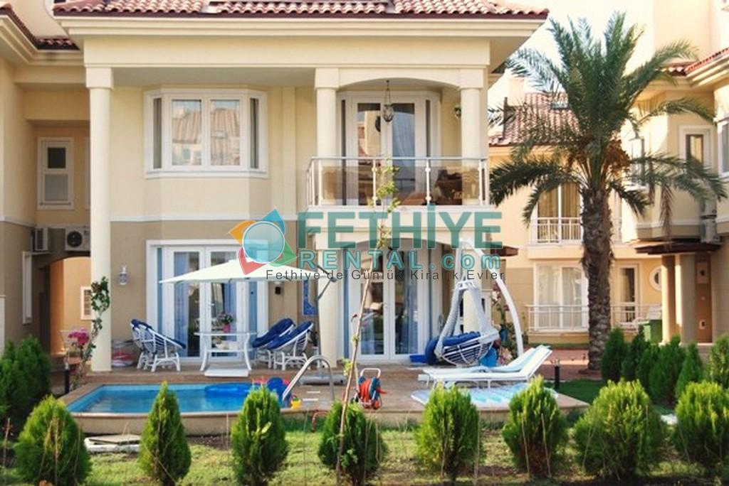Haftalık Kiralık Ev Fethiye Sun Set Beach Club