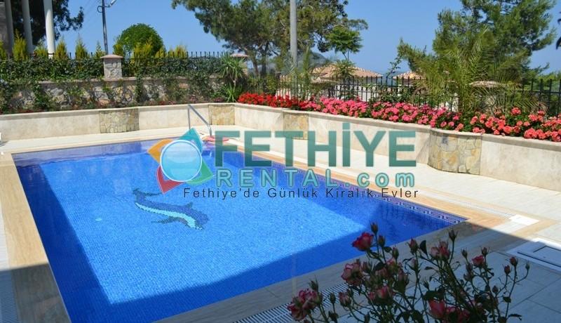 Özel Havuzlu Kiralık Yazlık Villa 01