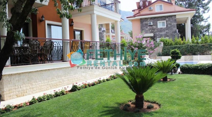 Özel Havuzlu Kiralık Yazlık Villa 20