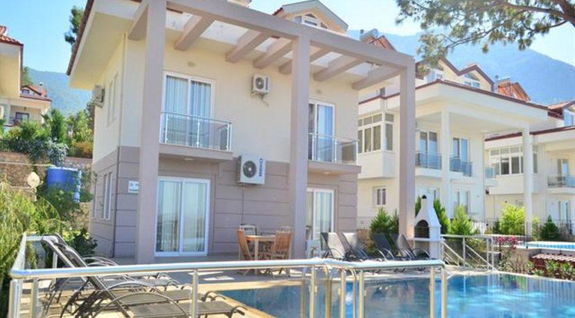 4 Yatak Odalı Günlük Kiralık Müstakil Havuzlu Villa Ölüdeniz Fethiye 12