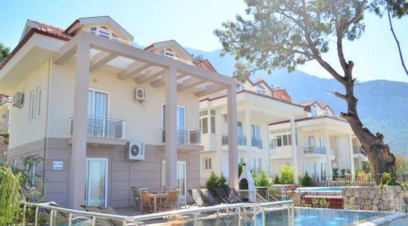 4 Yatak Odalı Günlük Kiralık Müstakil Havuzlu Villa Ölüdeniz Fethiye 18