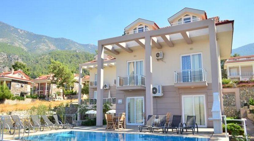 4 Yatak Odalı Günlük Kiralık Müstakil Havuzlu Villa Ölüdeniz Fethiye 22