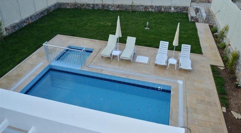 Havuzu Görünmeyen Müstakil Havuzlu Villa 11