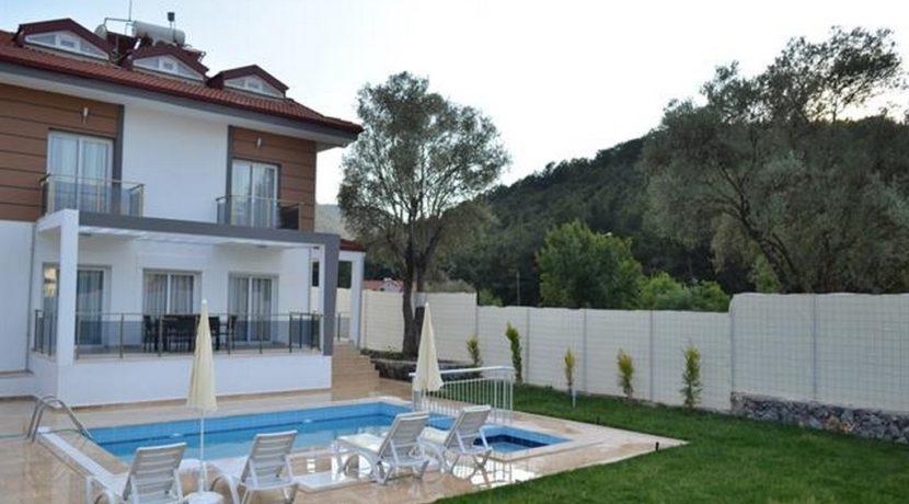 Havuzu Görünmeyen Müstakil Havuzlu Villa 18