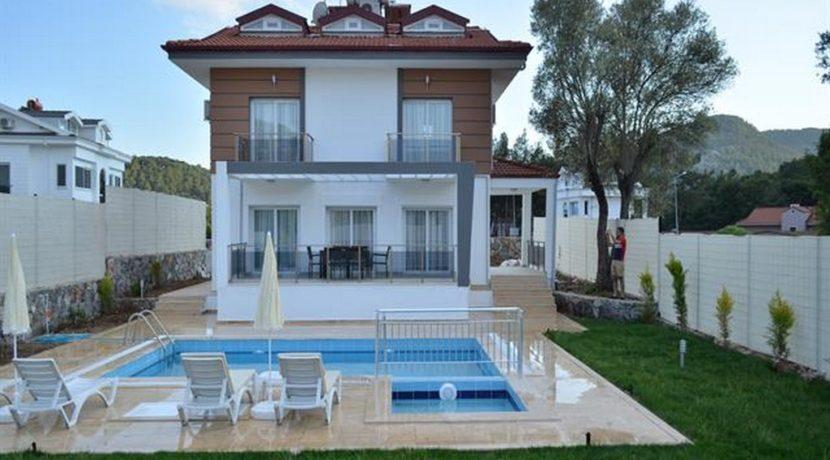 Havuzu Görünmeyen Müstakil Havuzlu Villa 23