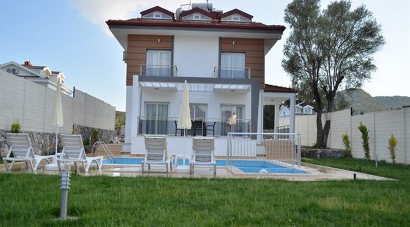 Havuzu Görünmeyen Müstakil Havuzlu Villa 27